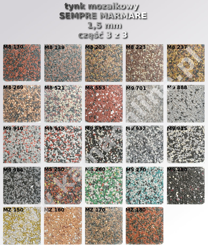 Tynk Mozaikowy Z Brokatem Sempre Marmare 1 5 Mm 25 Kg Kamaonline Pl